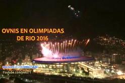UFO triangulaire lors de l'ouverture des Jeux Olympiques de Rio (06/07/2016)