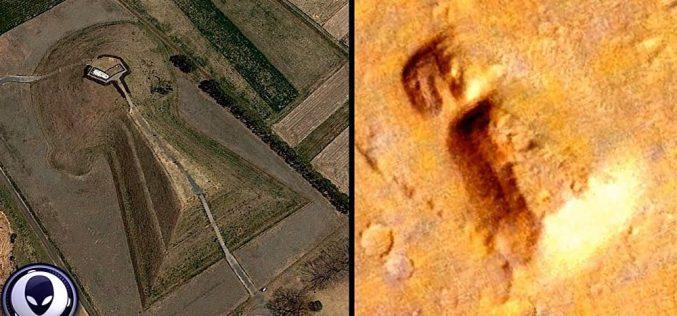 Des restes d'un ancien tombeau sur Mars agitent Internet