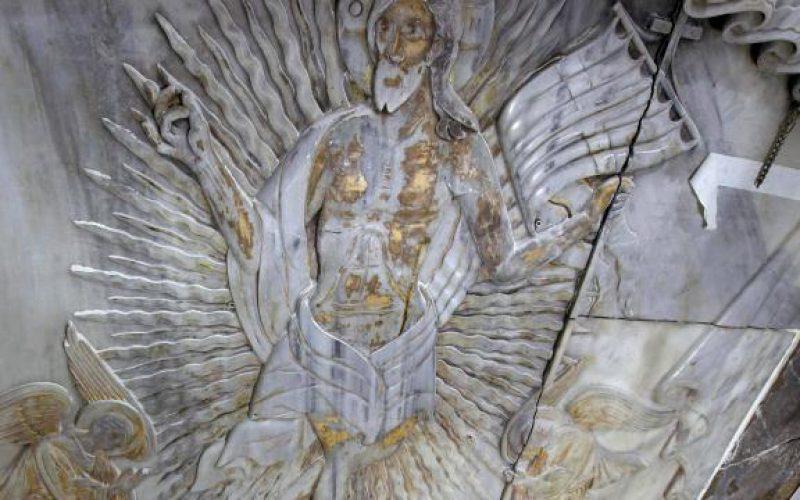 Tombeau du Christ. Découverte d'une mystérieuse plaque de marbre