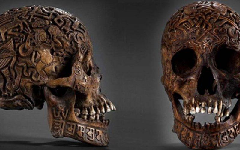 Les mystères du crâne sculpté du Tibet