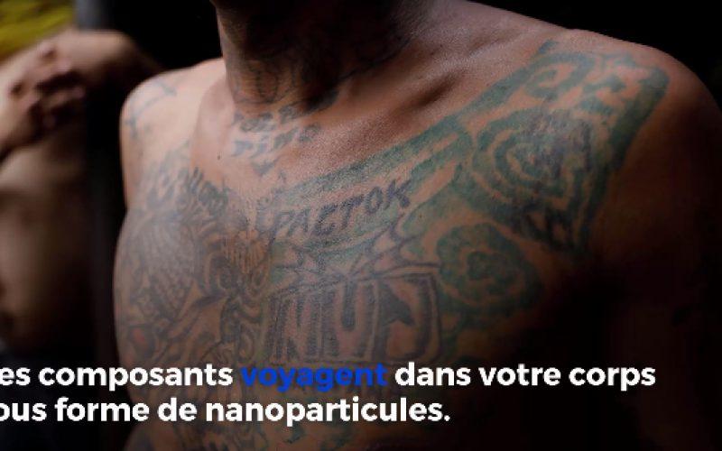 Selon une étude, les encres des tatouages finissent dans les ganglions