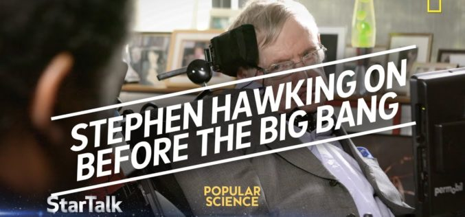 Stephen Hawking croit savoir ce qu'il y avait avant le Big Bang !