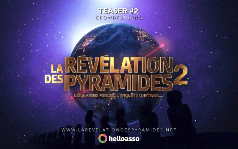 """Teaser LRDP2 """"La Révélation Des Pyramides 2"""" Jacques Grimault"""