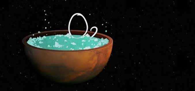 Vie sur Mars : de l'oxygène détecté dans un lac d'eau salée