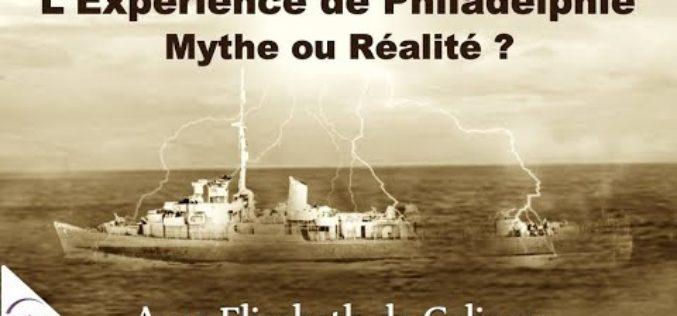 L'expérience de Philadelphie : Mythe ou réalité ? » avec Elisabeth de Caligny
