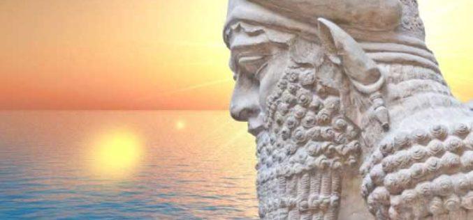 Enki : Le Dieu épique mésopotamien de l'eau qui a sauvé l'humanité