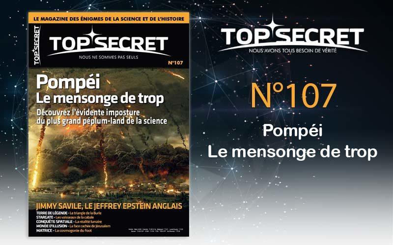 Top secret 107 Pompéi le mensonge de trop