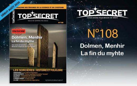 Top Secret 108 – Sortie début août 2020